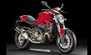 DUCATI Monster 821 stripe