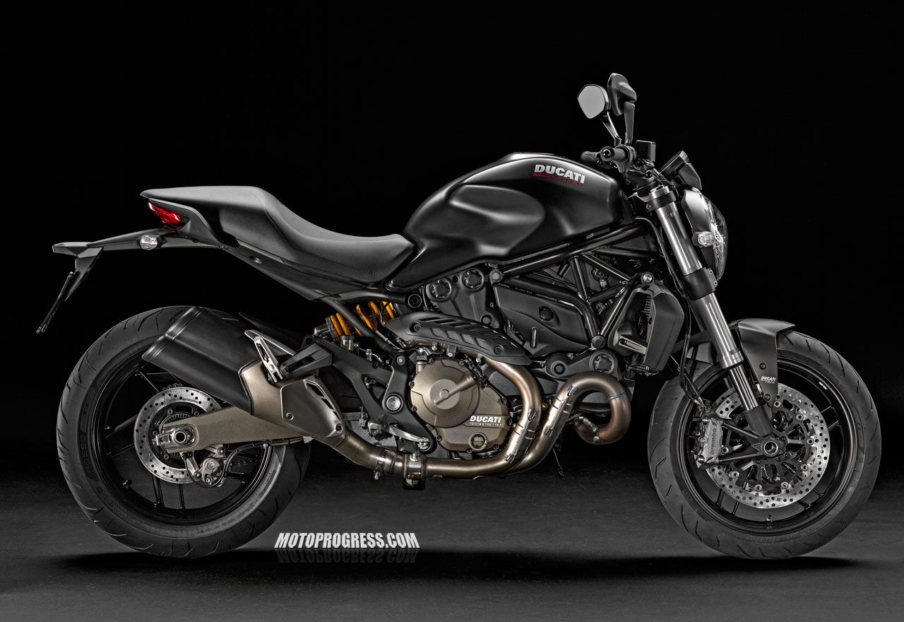 DUCATI MONSTER 821 2016 - Vente motos Roadster