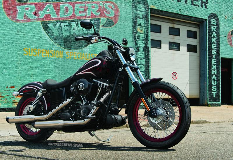 Harley Davidson Dyna Street Bob Fiche Technique