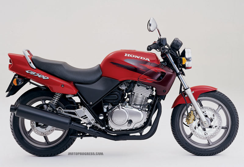 1998 Honda CB500 - Moto.ZombDrive.COM