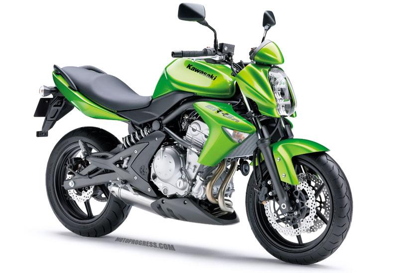Kawasaki er6n fiche technique