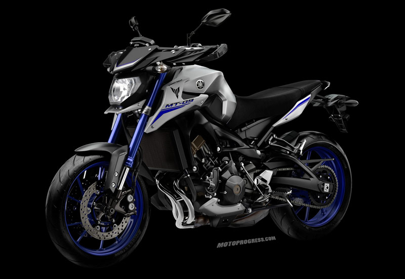 yamaha mt 09 street rally 2015 fiche technique. Black Bedroom Furniture Sets. Home Design Ideas