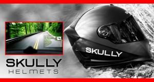 Skully Ar-1 casque et vue intérieure